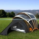 Solar Powered Tent - Earth Friendly Cool Camping