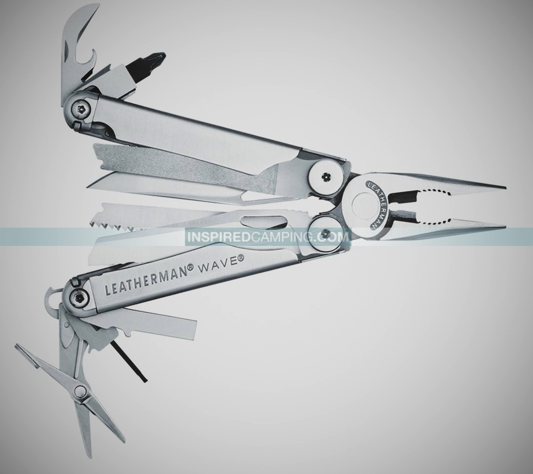 Leatherman Wave Fanned Inspired Camping Cool Camping