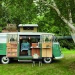 Cool Camping Site - Florence Vintage Caravan