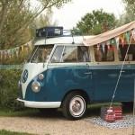 My Cool Camper Van Vintage Camper Van campsite