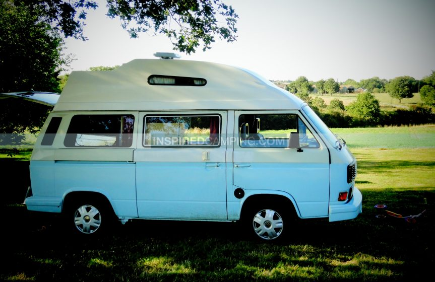 Campervan in full glory Inspired Camping Cool Camping Campsite