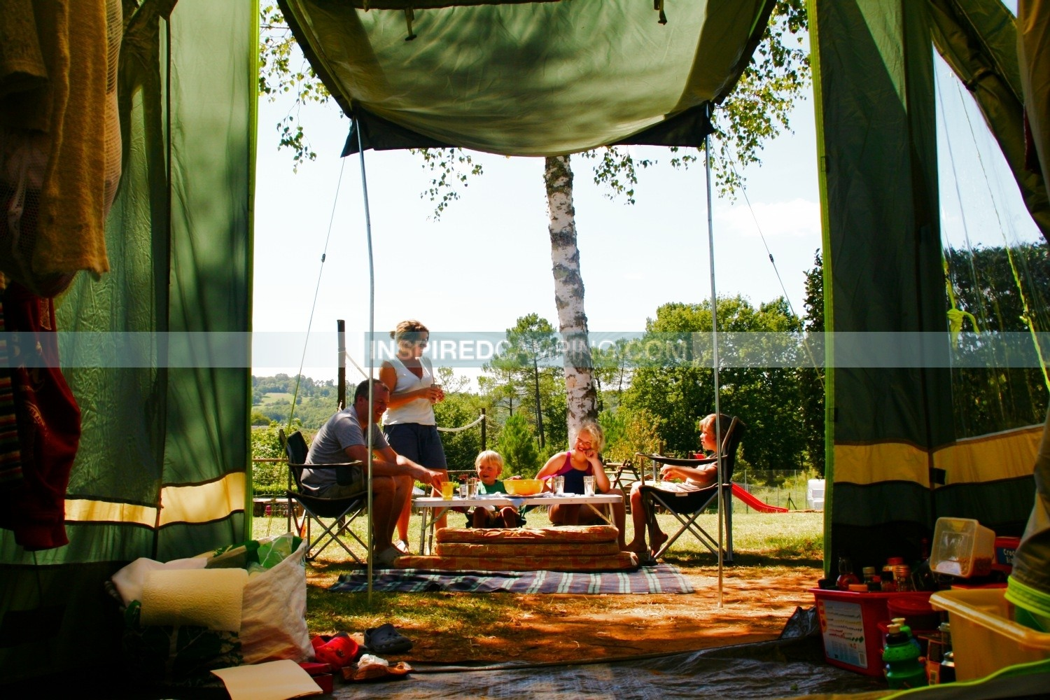 how to keep food cool camping