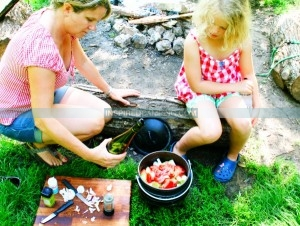 Family Camping Cookbook Healthy camping food at the campsite