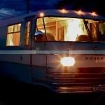 Vintage Campervan Myrtle Cool Camping Campsite Camp Camper camping site