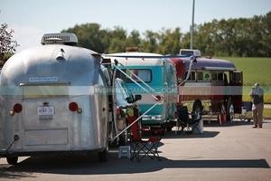 Vintage Campervan Myrtle Cool Camping Campsite Camp Camper campingsite