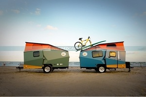 Deluxe Camping Gadgets Cricket Trailer