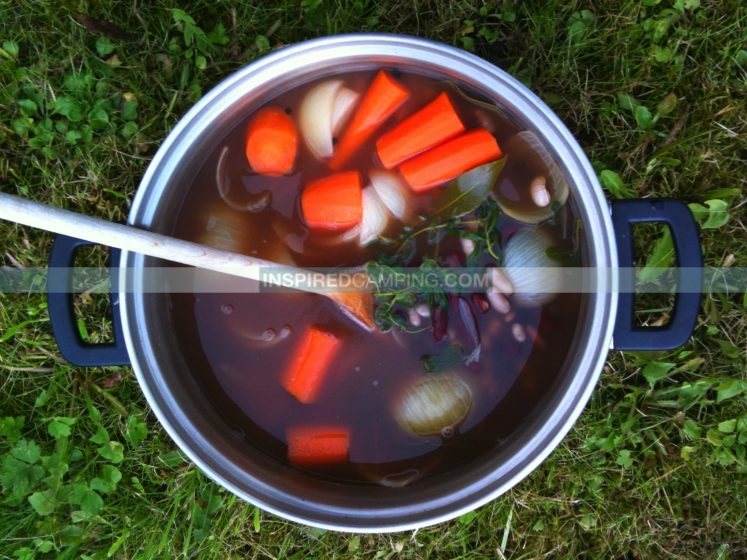 Easy Camping Food, cool camping, glamping, Inspired Camping, campsite food