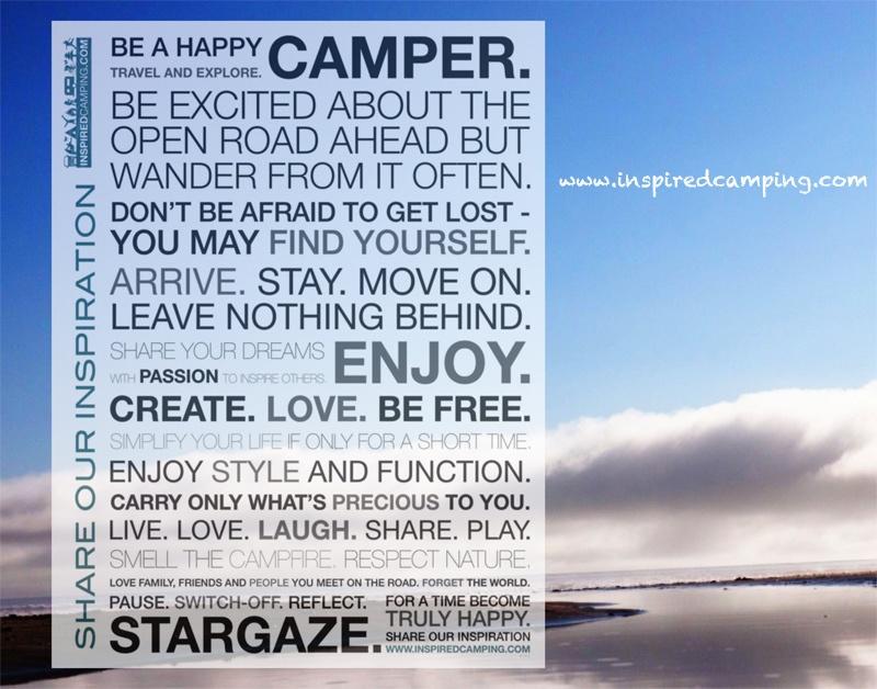 Inspired Camping magazine glamping