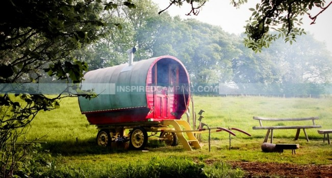 Inspired Camping Gypsy Caravan Style
