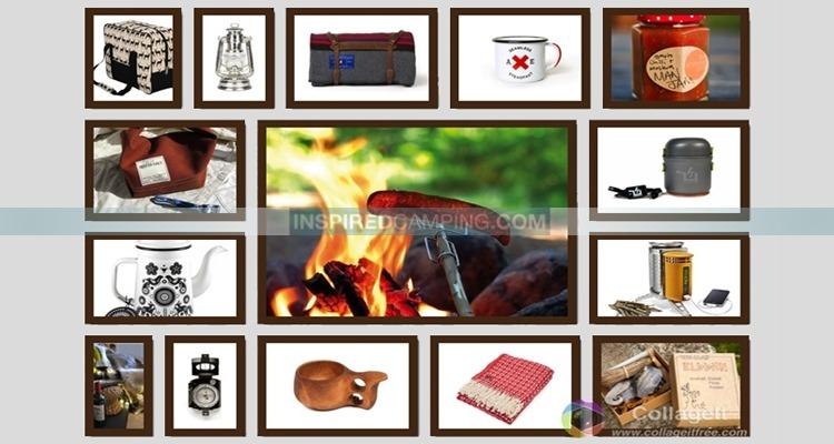 Glamping and camping gift ideas for Christmas