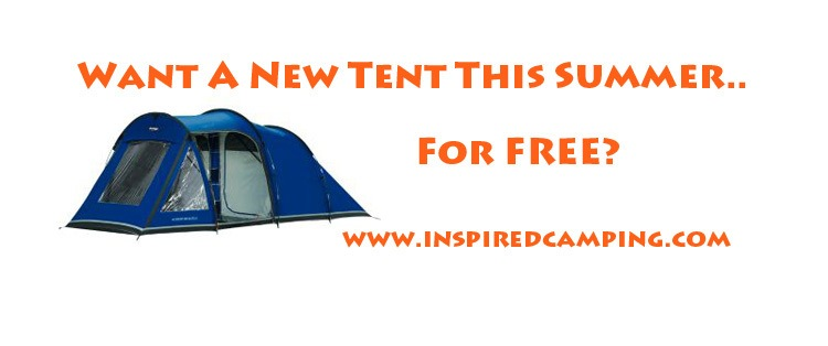 camping tent giveaway