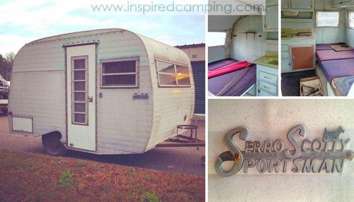 Vintage caravan for sale