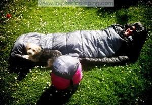 camping car sleeping bag