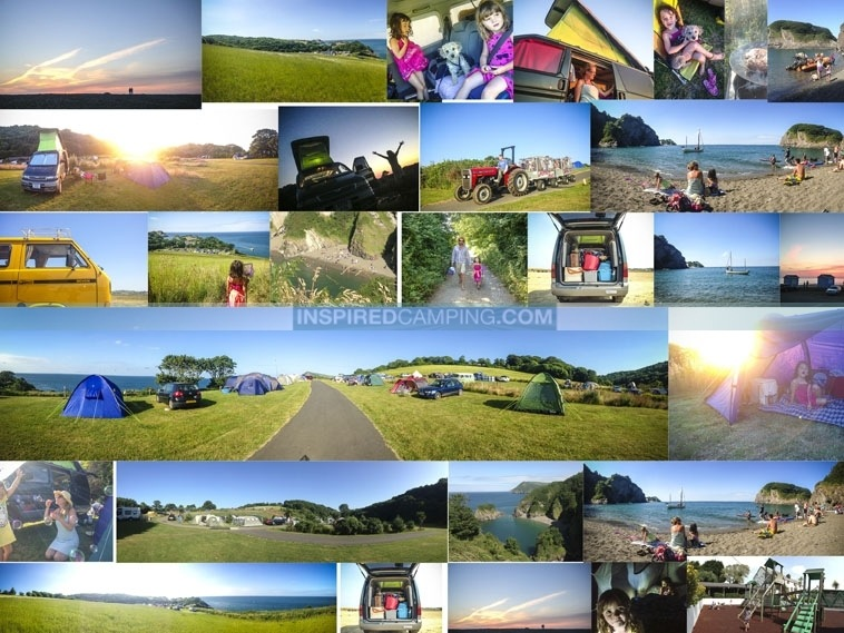 inspired camping and glamping