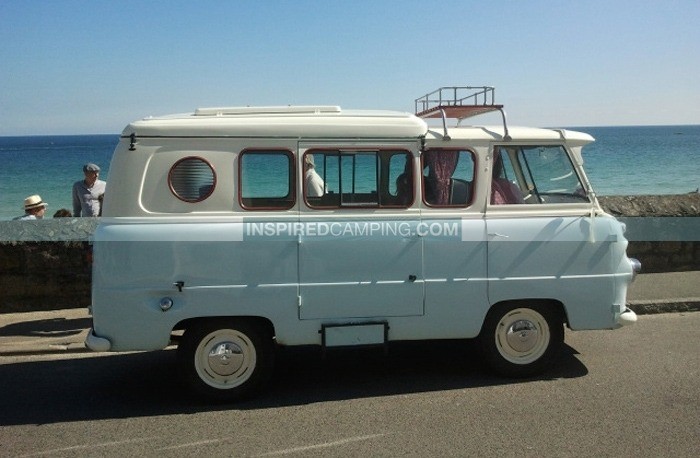 Campervans For Sale >> Camping In Cornwall In A British Made Retro Campervan