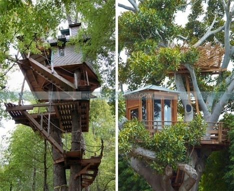 Treehouse Camping Is This The New Glamping Trend Cool