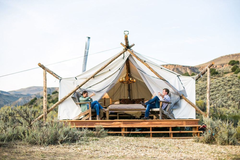 collective retreats glamping