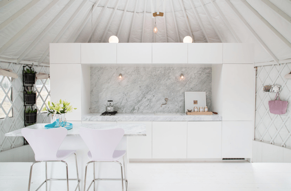 yurt homes kitchens 2017