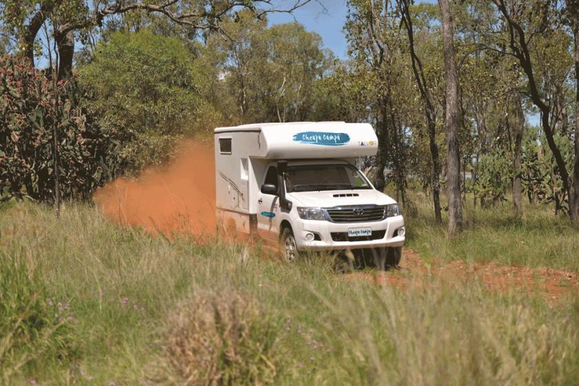 best campervans for the outback