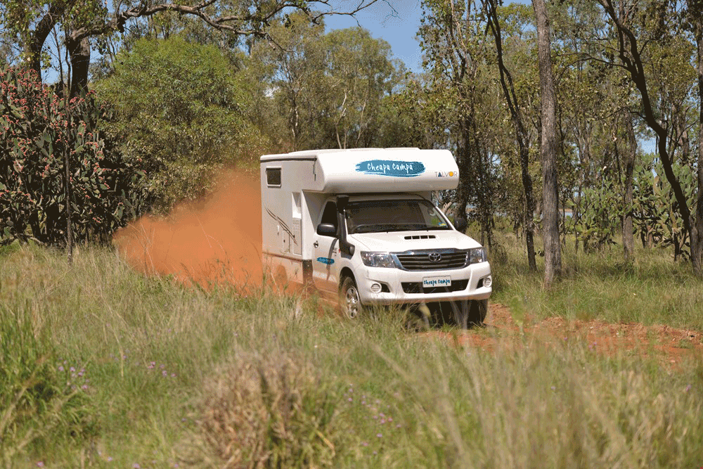 best campervans for the outback