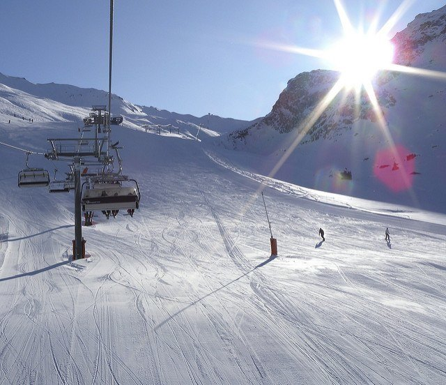 Top Three Ski Resorts in the Alps