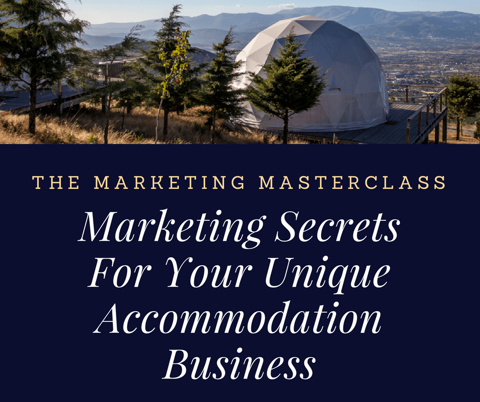 get more bookings with the marketing masterclass