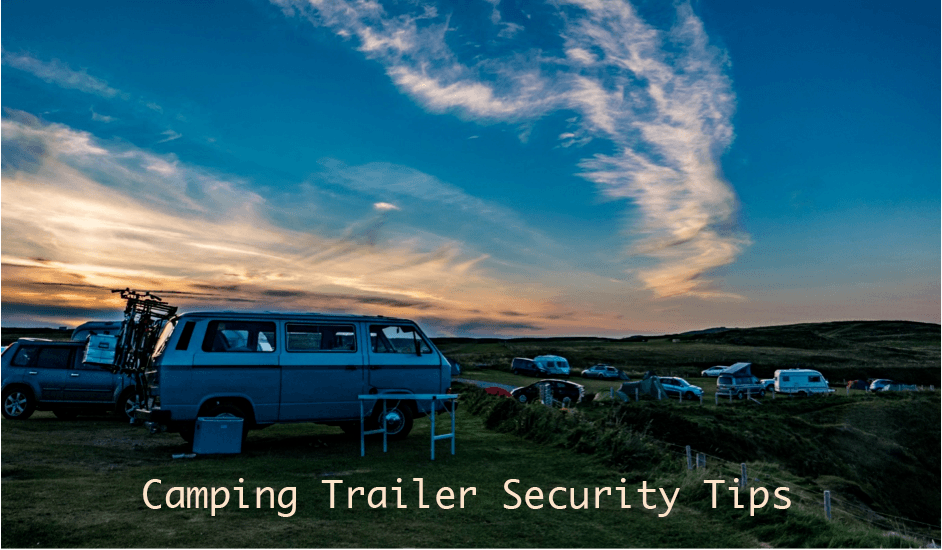 camping trailer security