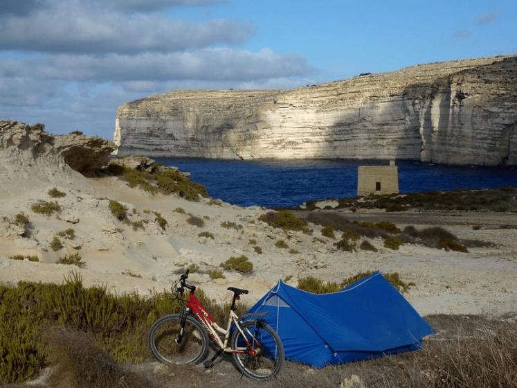 camping in gozo