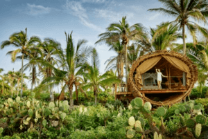 Playa Viva glamping resort