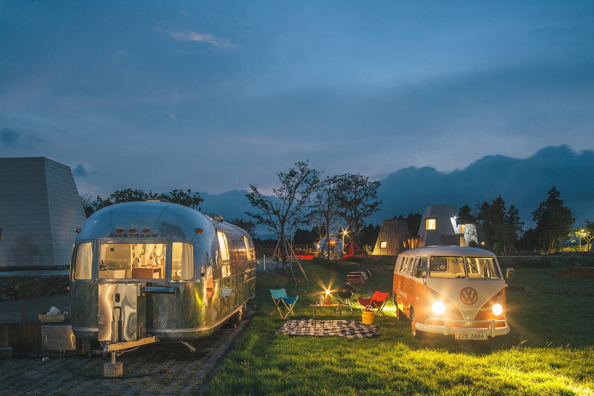 glamping business airstreams