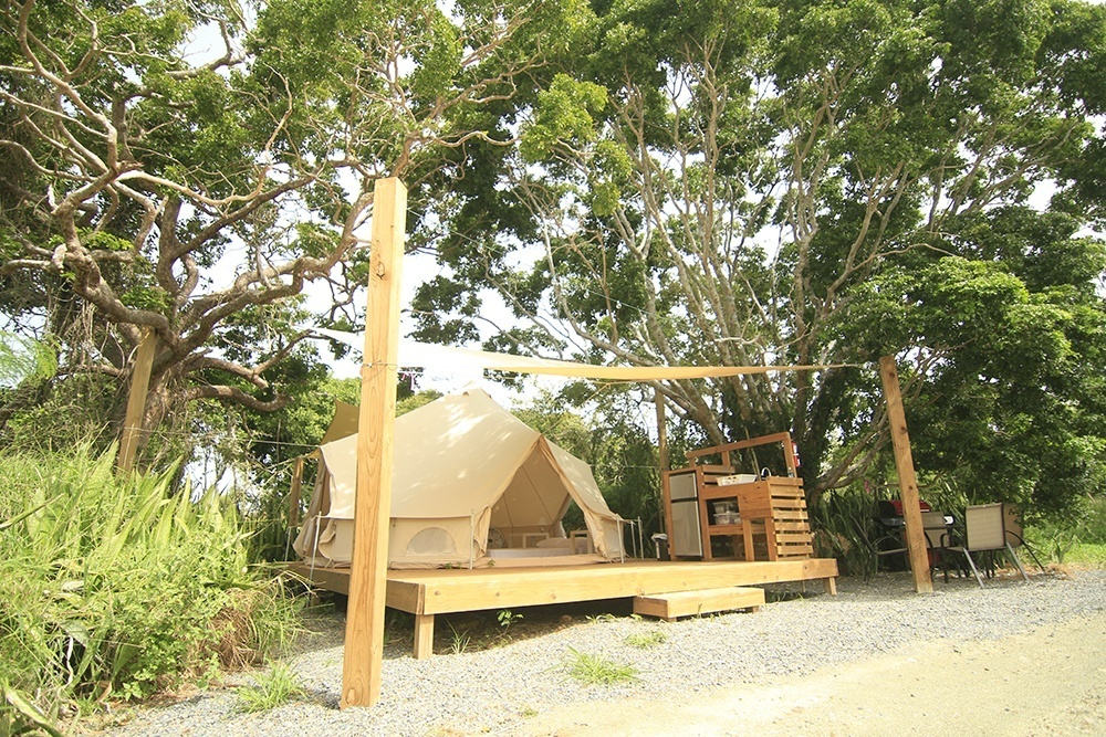 glamping business startup
