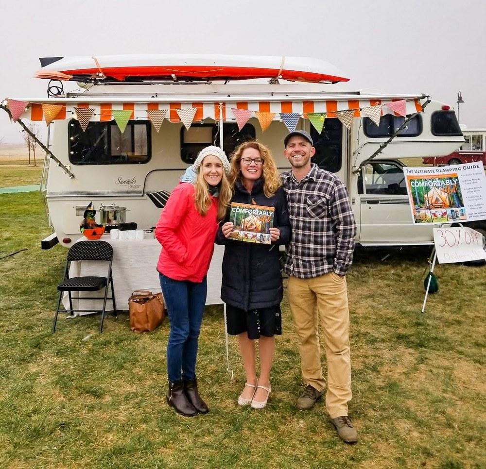 HoneyTrek-SarahRiley Buddy the campervan